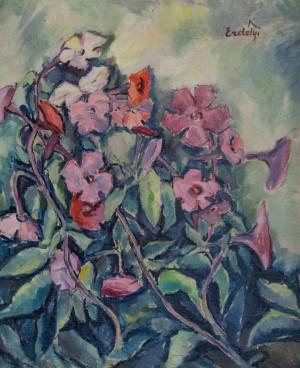 Phloxes, 1930s, oil on canvas