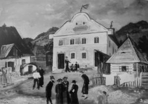 Шабес, 1937, полотно,олія, 62х89