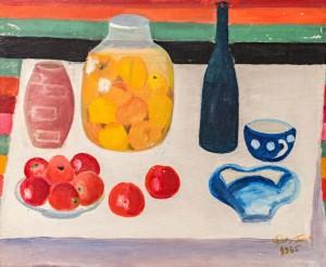'Натюрморт з абрикосами', 1965