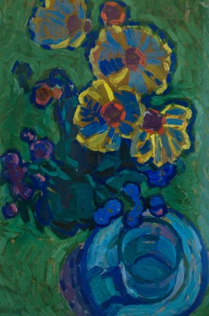 F. Seman, Still life.Flowers