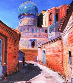 Мечеть Бібі-Ханим, 1984, кар.о., 74х64