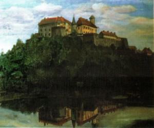 Мукачівський замок, 1985, 60х70