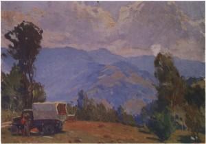 Фондівський «Студебекер», поч. 1950-х, к.о. 24,5х36