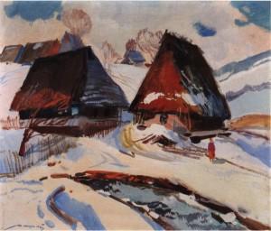 Хати, 1977, п.о. 60х70