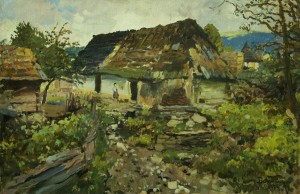 An Old Bridge, 1927, oil on canvas, 69x100 (2)