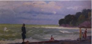 Хоста, 1956, к.о. 17,5х35
