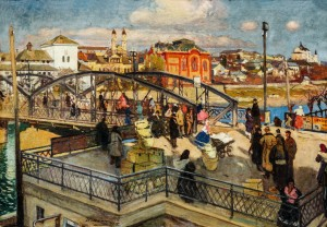 An Old Bridge, 1927, oil on canvas, 69x100 (1)