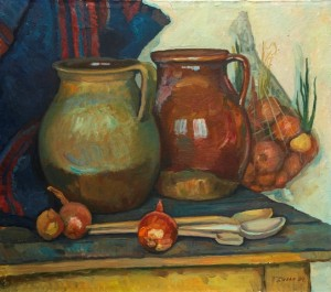 Jugs, oil on canvas, 74х 84