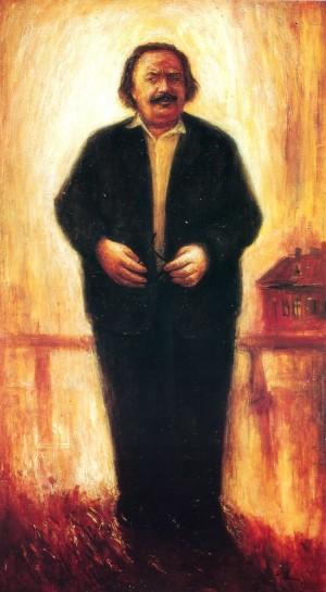Портрет Ф.Д. Кривина, 1984, п.о., 132х73