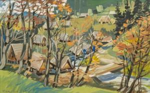 Autumn In Synevyr Glade