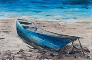 'Morning At Sea', 2017, oil on canvas