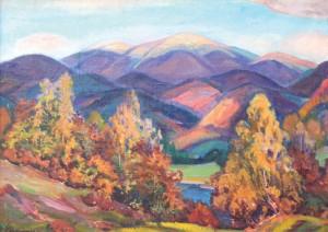 Осінь в горах, п.о.