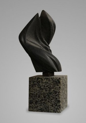 Чорне полумя, 2012, габро, 30х13х11