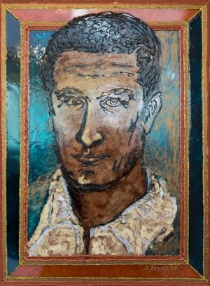 Інтерпретація реальності, 2009, скло, фарби по склу