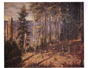 Ялиновий Ліс, 1951, п.о. 88х109