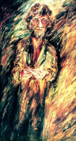 Портрет художника Брайніна,1981, карт.о.темп