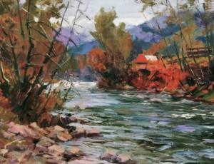 Осінній етюд, 2011, 70х80
