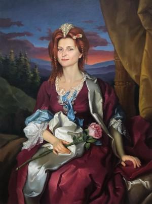 'Королева Карпат', 2007, п.о., 80х60