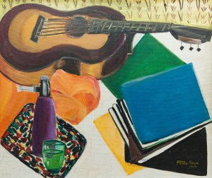 'Натюрморт з гітарою', 1974