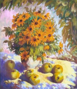 Осінній натюрморт, 2008, п.о., 60х70