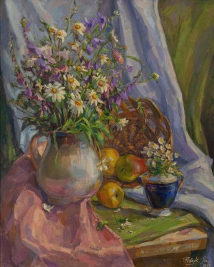 A. Pavuk  'Still Life With Chamomile'