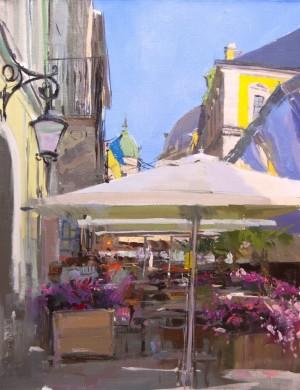 Summer Jazz 2016 oil on canvas 65x50.