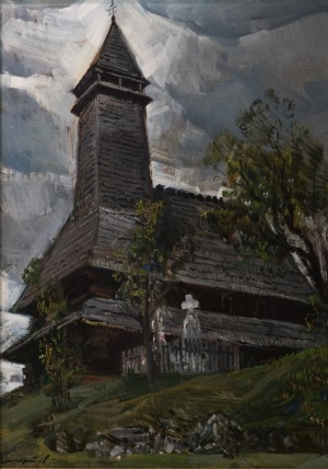I. Shutiev. Museum of Wooden Churches