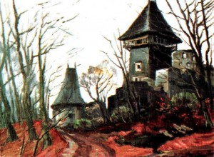 Невицький замок, 1980, 50х60