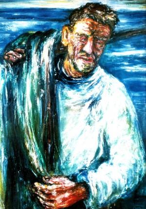Рибалка , 1982.п.о.темп.120х85