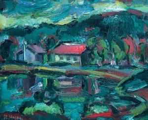 На озері, 1993, п.о., 50х60