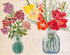 'Still Life With Gladiolus', 1965