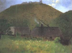 Khust Castle, 1896
