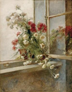Квіти у вікні