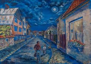 K. Kizman 'City Street'