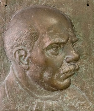 B. Korzh Portrait of Y. Bokshai', gesso