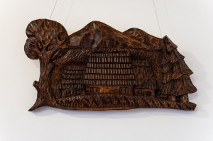 K. Kovhan 'City', wood carving