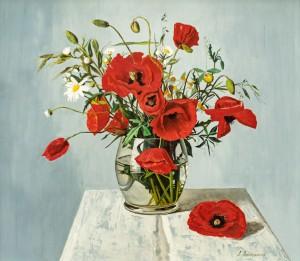 A. Landovska Poppies'