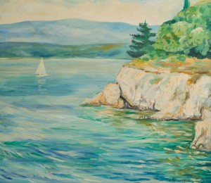 A. Mukhomedianov Krk Island, Croatia', 2011, oil on canvas
