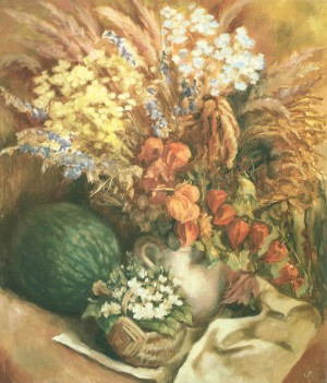 Осінній натюрморт, 2006, к.о., 60х70