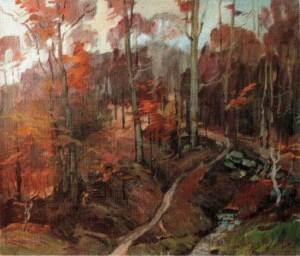 Осінній пейзаж, 2006, 60х70