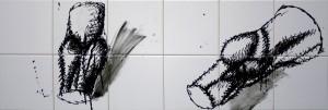 """""""Я суглоби"""", 2010, п. акр., 30х90"""