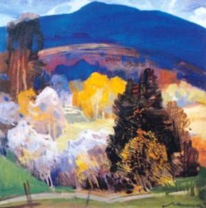 Галявина, 1983 р, п.о. 60x60