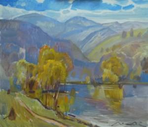 Закарпатська осінь, п.о. 59,5x68,5