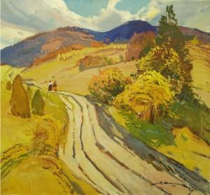 Осінній пейзаж, п.о. 64x69