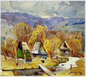 Пейзаж, п.о. 80x90