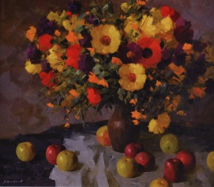 Autumn Still Life, 2012, oil on canvas, 70x50