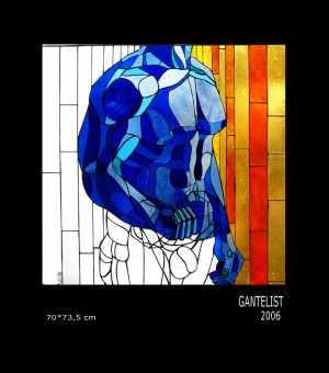 Gantelist, 2006, 70х73,5