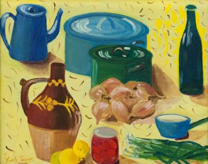 'Натюрморт з каструлями', 1967
