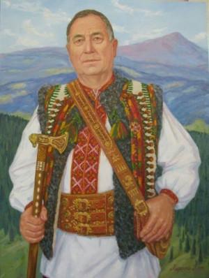 Народний майстер України Ю.Ю.Павлович п.о.60х80