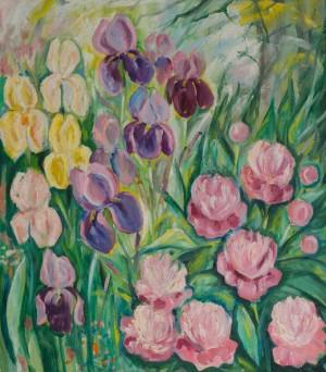 Квіти Катерини, 2010, п.о., 70х80